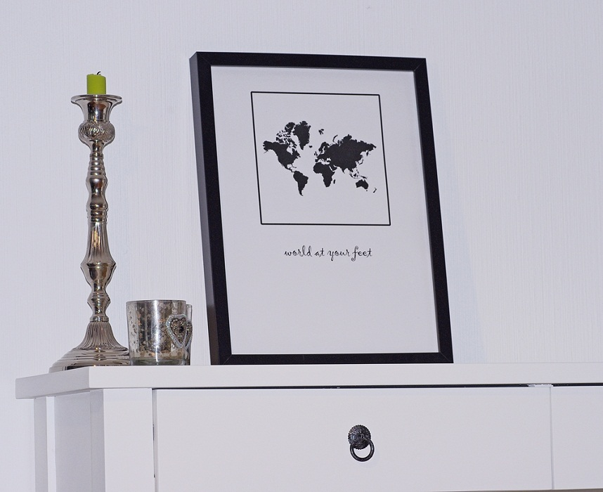 Prints - world at your feet